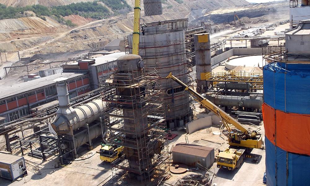 RTB Bor – New sulfuric acid plant