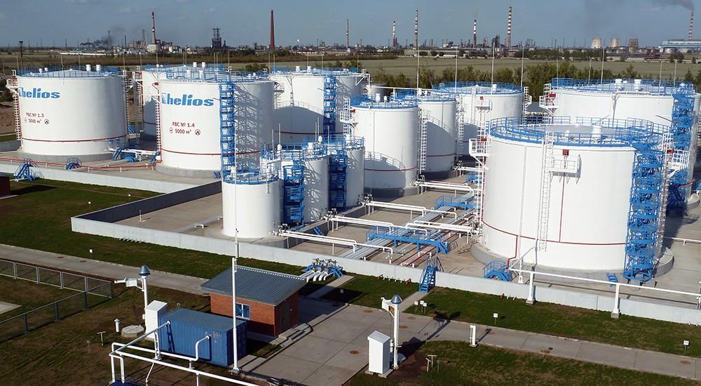 Naftna baza s rezervoarima Pavlodar