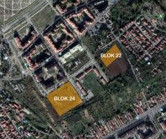 Stambeni kompleksi, blok 24 i 22, Bežanijska kosa, Beograd