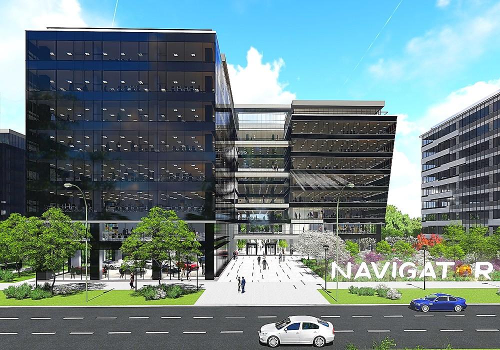 """Деловое здание  """"Navigator Business  Center 2"""""""