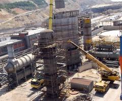 Строительство завода серной кислоты  Горнорудного медеплавильного комбината РТБ Бор