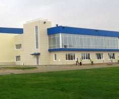 Строительство базы Шлюмберже, Астрахан