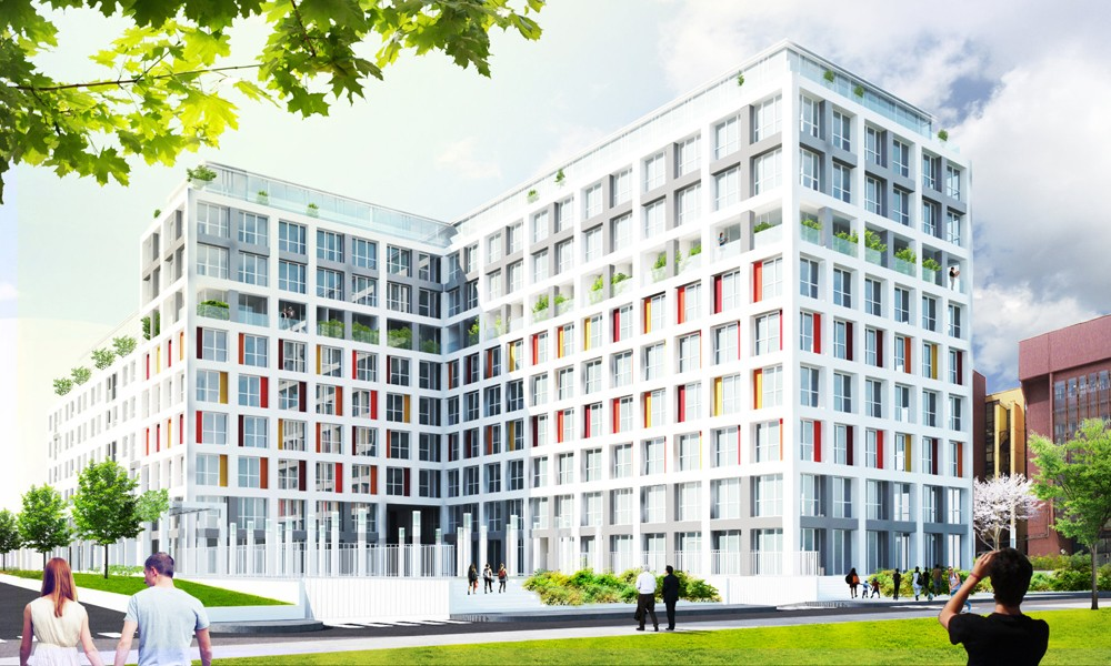 """Commercial – Residential Building """"Park 11"""""""